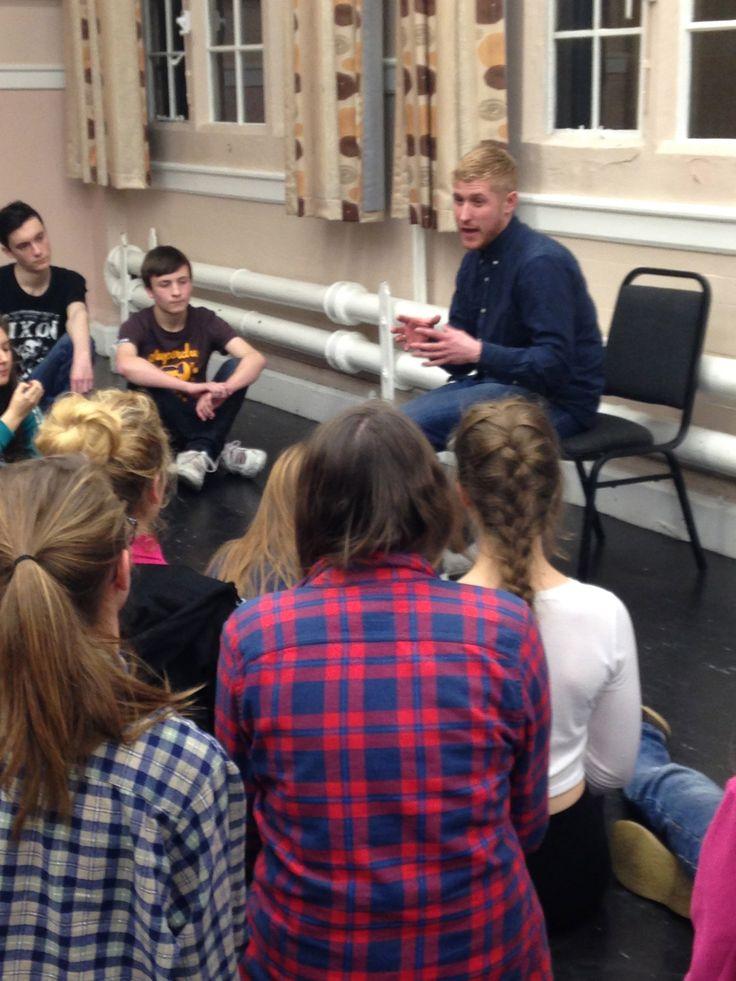 Acting Workshop in Nottingham with the fabulous Actor Adam Gillen