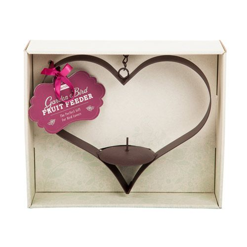 If you are looking for something a little different to the usual bird feeders, this heart-shaped feeder is a must.   http://www.english-heritageshop.org.uk/garden/garden-accessories/heart-bird-feeder