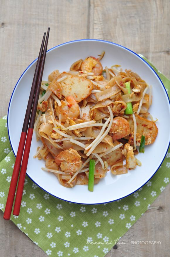 how to cook flat rice noodles