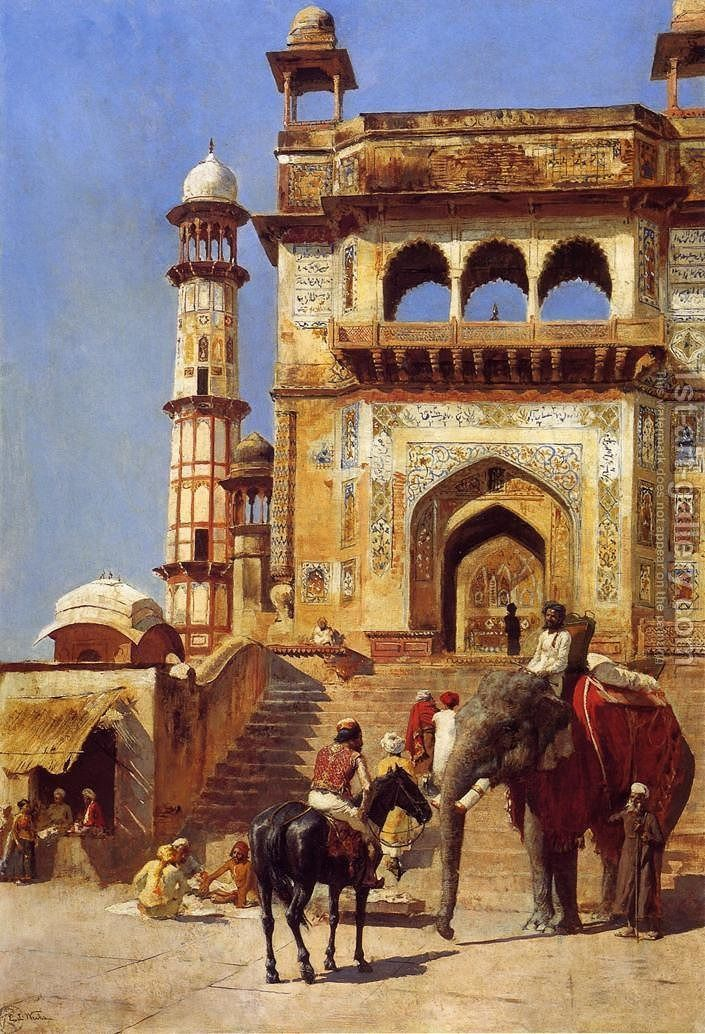 Before A Mosque Art Gallery Painting Most Famous Paintings