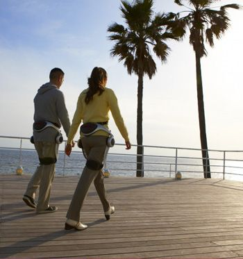 Robot technologies helping seniors. Honda's Stride Management Assist device, based in part on its ASIMO robot, helps wearers walk and opens up a world of new possibilities in senior health.