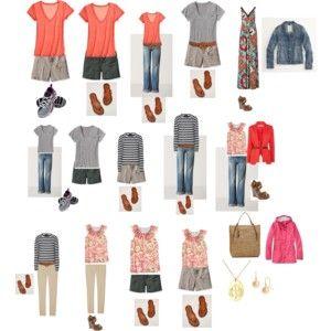 Vacation Wardrobe Sets (Casual)