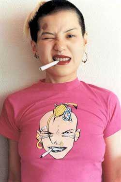 milftank: yurie nagashima The pink Tank Girl shirt tho (Source: always--tomorrow)