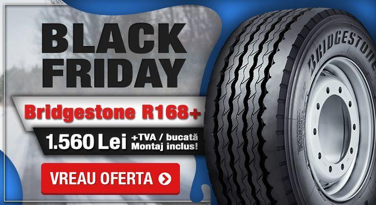 De Black Friday la Fomco Tyres ai reducere la Anvelopele Bridgestone R168+!  #blackfriday #fomcotruckservice #fomcotyres