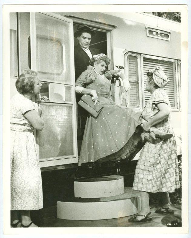Lucille Ball and Desi Arnaz Movie 1953: The Long Long Trailer