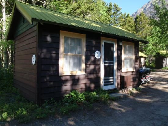 Swiftcurrent Motor Inn and Cabins- cheaper little cabins. very close to most trailheads. less than a mile to Many Glacier Hotel (for breakfast, dinner, boat rides, red bus tours, etc.).