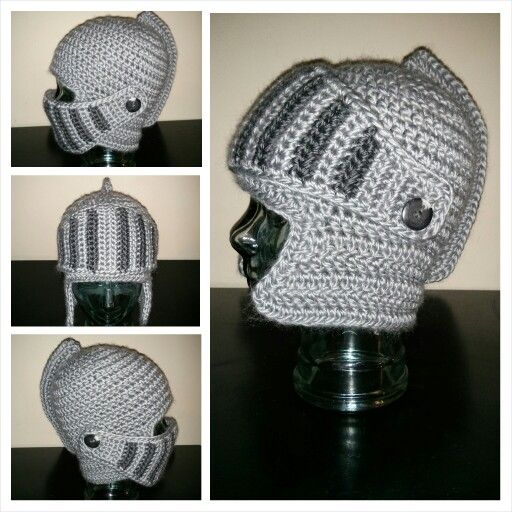 Knight Helmet. Huzzah!! www.facebook.com/onehookwonder