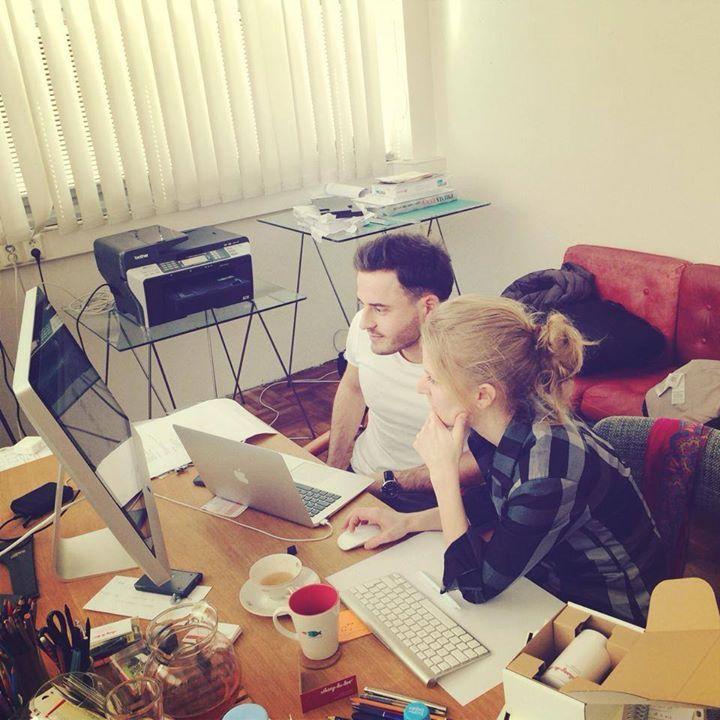 Vymýšlíme, pracujeme, tvoříme...