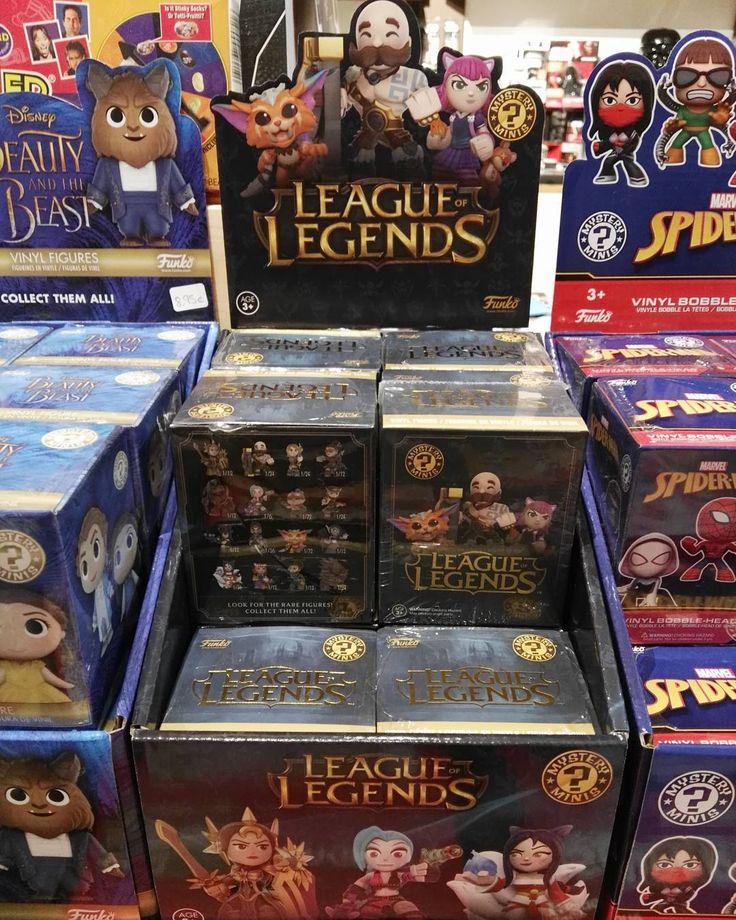 Entre otras muchas cosas también han llegado los Mystery Minis de League of Legends. Son muy monos jejeje #mistergiftbcn #mistergift #oficial #official #lol #leagueoflegends #funko #mysteryminis