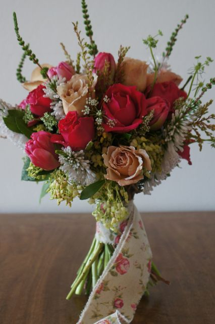 Vintage bouquet, French inspired.