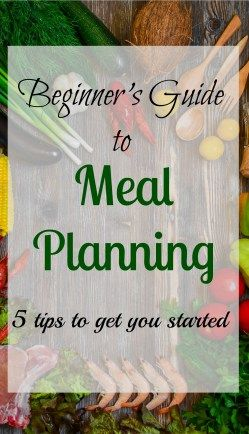 There's more to a successful meal plan than just choosing recipes for each day...