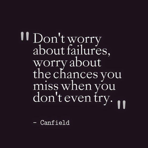 Inspirational Quotes About Failure: 25+ Best Life Failure Quotes On Pinterest