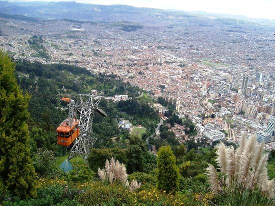 View of Bogota from Monserrate (32793212)