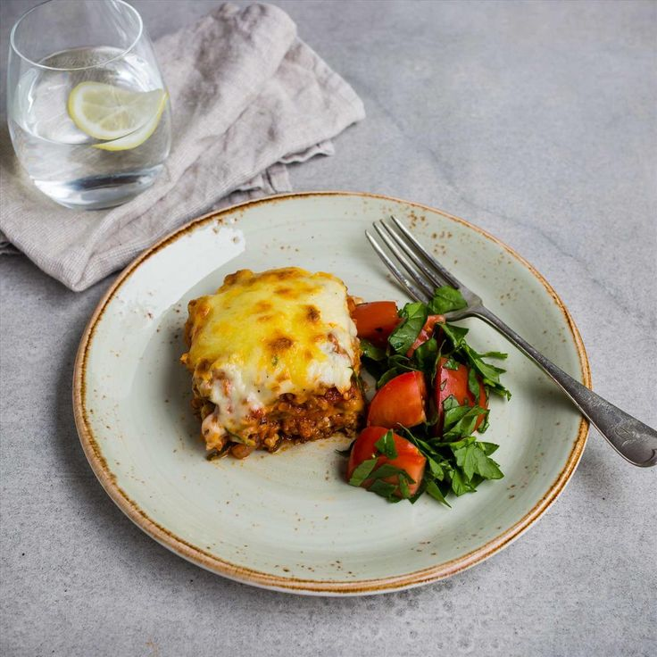 Chicken and Bacon Lasagne with Bechamel Sauce
