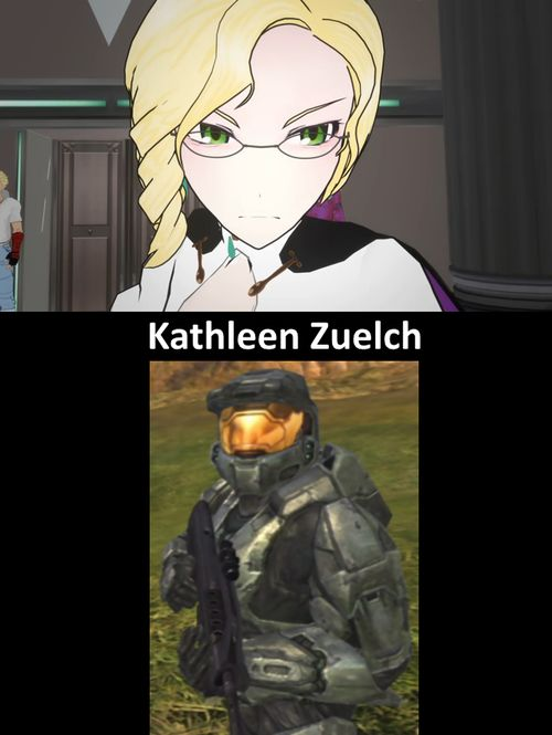 rwby voice actresses | Kathleen Zuelch: Glynda Goodwitch (RWBY), Agent Texas (RvB)