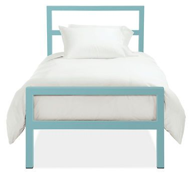 Parsons Bed in Colors - Beds - Kids - Room & Board
