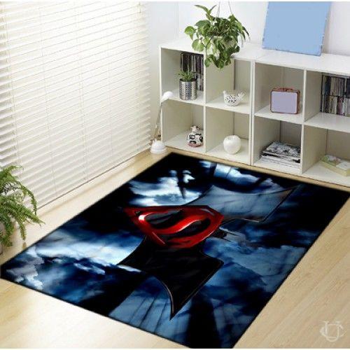 Batman vs Superman Logo Poster Blanket