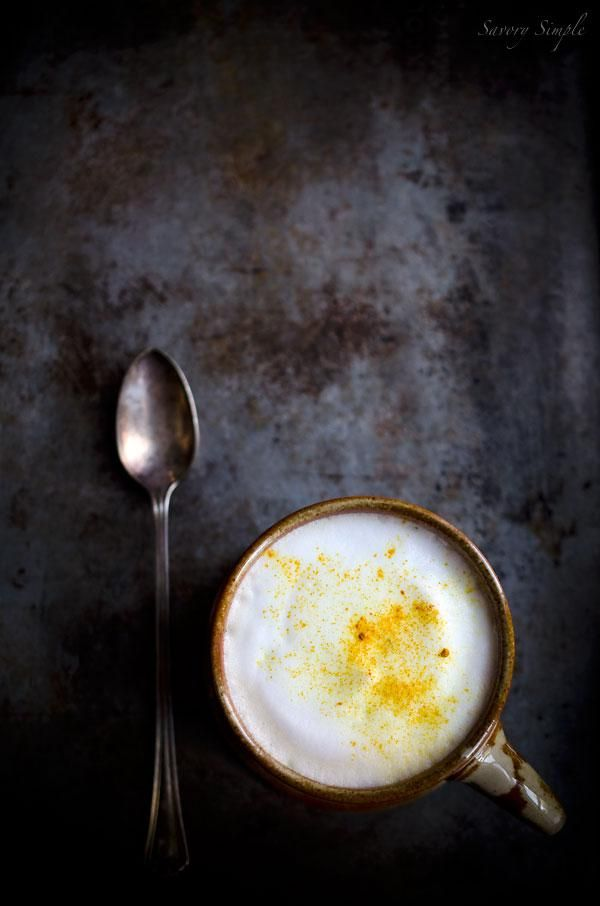 Make your own cup of chai this Fall! Turmeric Chai Latte | via Savory Simple