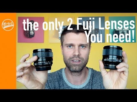 (2) The only 2 lenses you need for the Fujifilm X System - YouTube