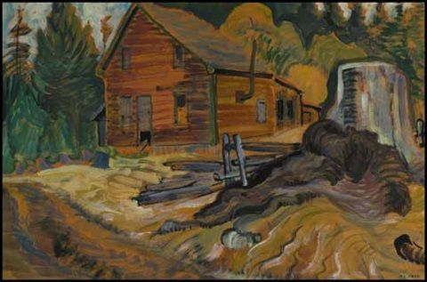 Abandoned house near Metchosin, BC, 1935. Emily M. Carr