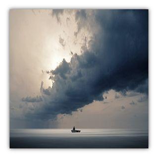 Obra digital de Philip McKay    Portada de Oracion contra la Depresion.