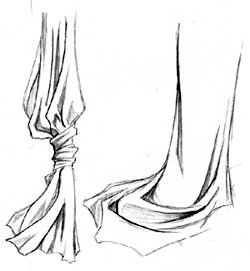 in depth tutorial for drawing folds in clothes/cloth/etc.  Crunchyroll - Drawing Paradise -