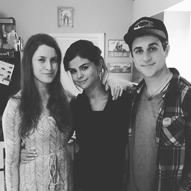 David Henrie: We had the best time last night. We dreamed up what our wizards characters are doing present day lol, and talked about the fact that I started all of #selenagomez social media platforms ;)