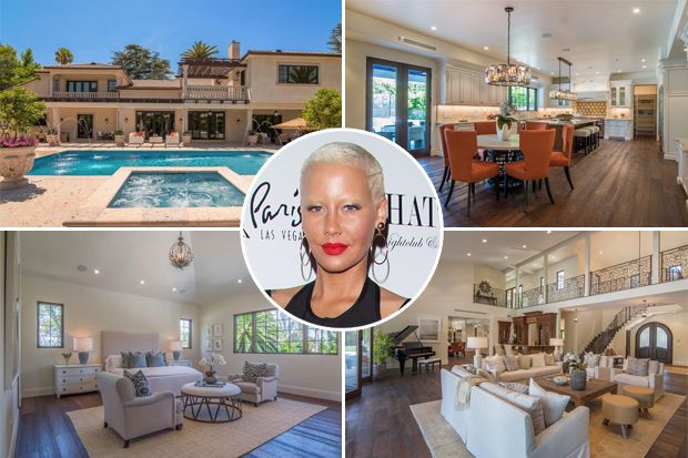 Take a Look Inside Amber Rose's $4 Million Mansion