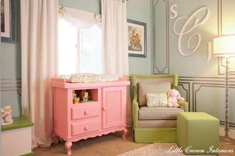 Baby room colors!