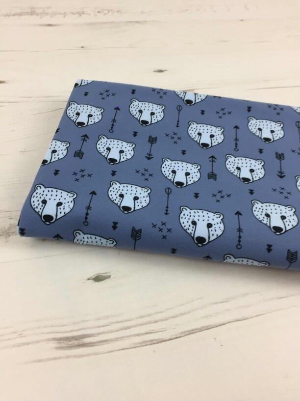0e4f39936b0 Blue Bears Jersey – Kailuna Fabrics | NEW | Pinterest | Bear, Blue ...