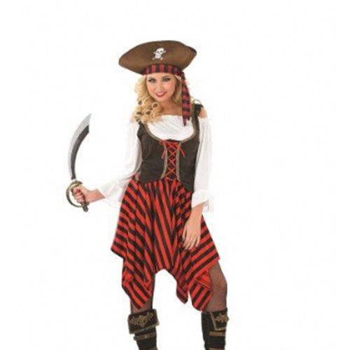 Cheap ladies pirate fancy dress costumes