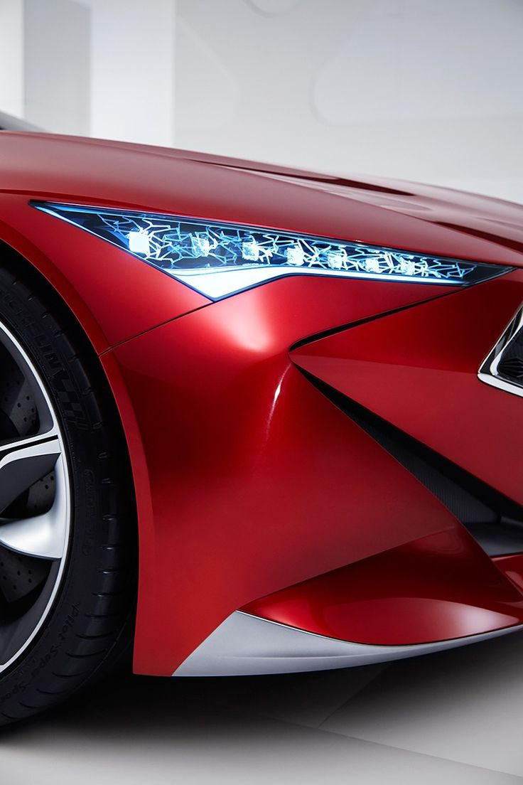 acura highlights razor-edged forms with precision concept at NAIAS 2016
