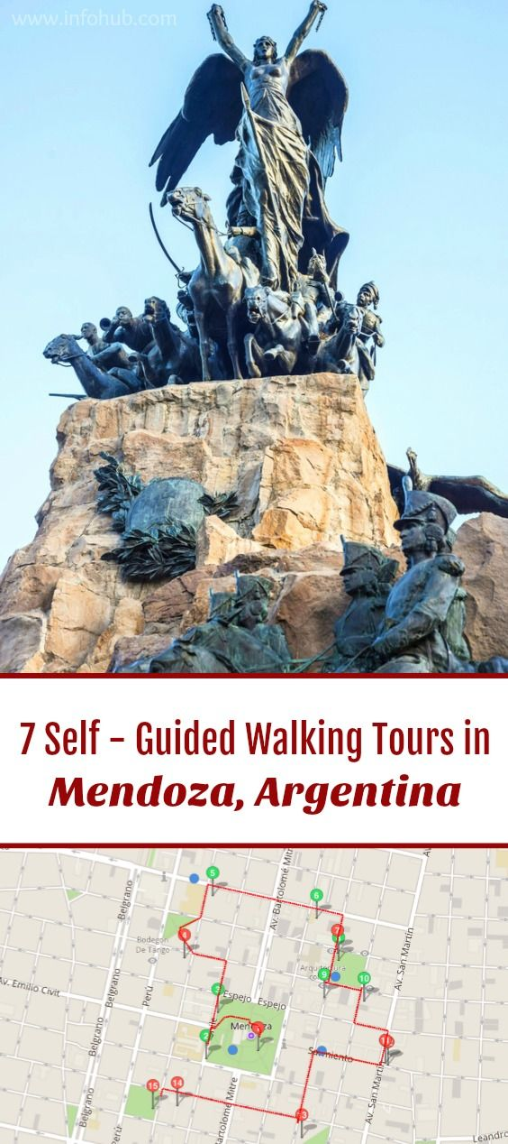 Follow these 7 expert designed self-guided walking tours in Mendoza, Argentina to explore the city on foot at your own pace. Each walk comes with a detailed tour map and together they are the perfect Mendoza city guide for your trip.