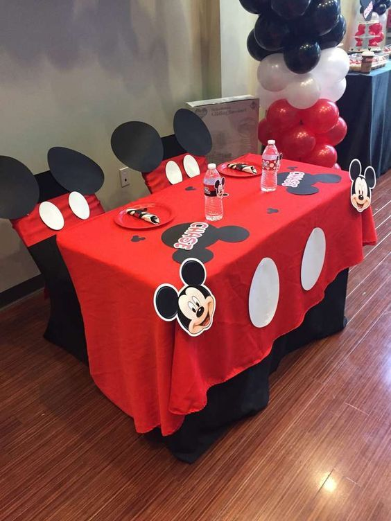Mickey Mouse Baby Shower Party Ideas   Photo 1 of 9   Catch My Party:                                                                                                                                                                                 Más
