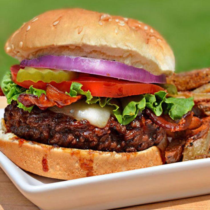 Jack Daniels Burgers (T.G.I. Friday's Copycat Recipe)