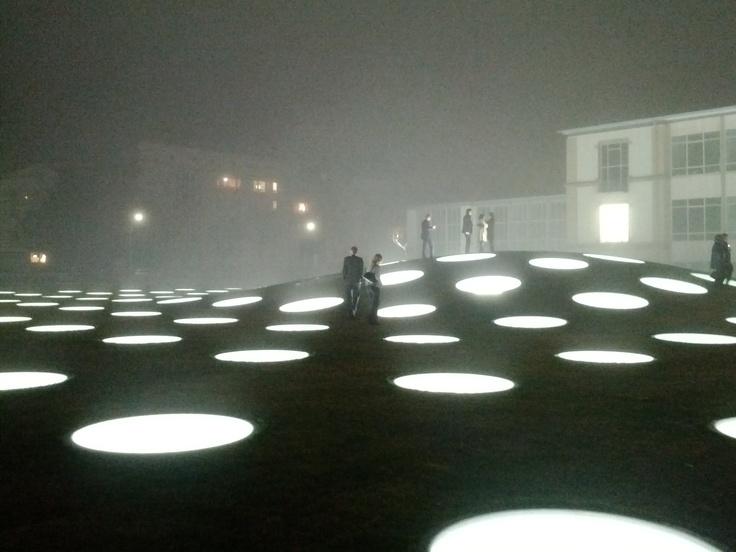 Städel Museum. Frankfurt. Germany.  Landscape lighting, Museum, Lighting