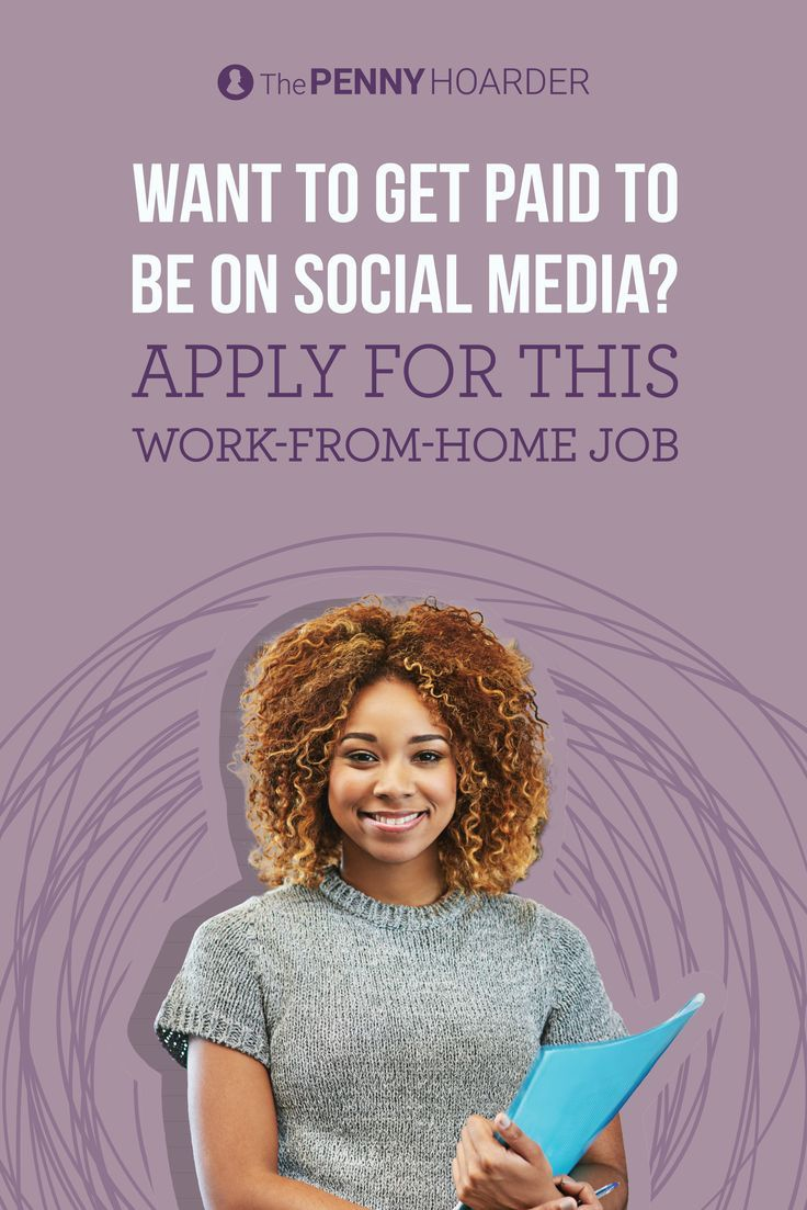 Do you know your way around Facebook and Twitter? Do you want to work from home? You may be interested in a job we just learned about from a reader. Here's how to apply. /thepennyhoarder/