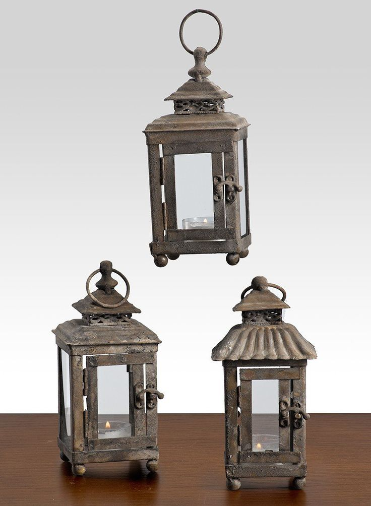 Antique iron mini hanging lantern spring summer gay romantic outdoor beach wedding decor candle holder event party floral supplies tv set stage props