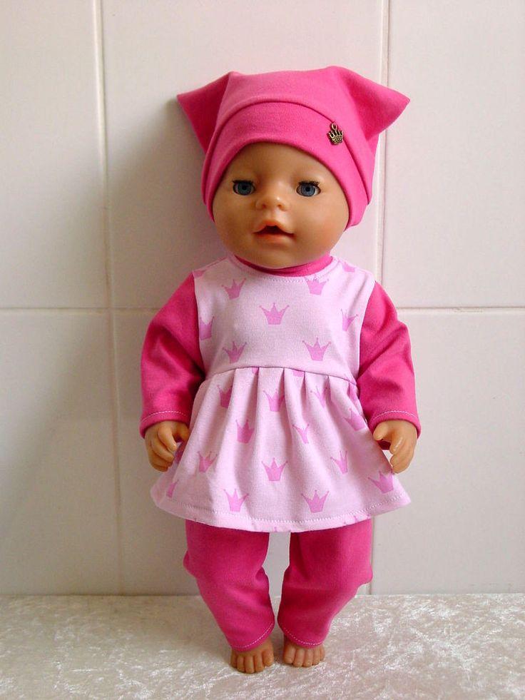 Puppenkleidung Herbst/Winter Set 3tlg f. z.B. BABY BORN o.a. 42-44cm Puppen**NEU in Spielzeug, Puppen & Zubehör, Babypuppen & Zubehör | eBay!