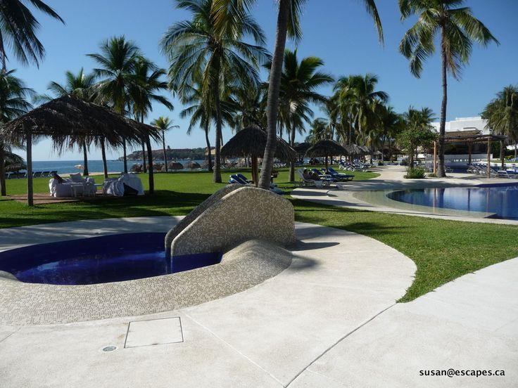 Beautifully manicured grounds