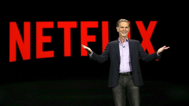 Reed Hastings, co-founder and CEO of Netflix, delivers a keynote address at the 2016 CES trade show in Las Vegas, Nevada January 6, 2016. REUTERS/Steve Marcus TPX IMAGES OF THE DAY