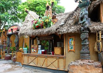 Dole Whip at the Tiki Juice Bar - Disney World Dining from Food & Wine