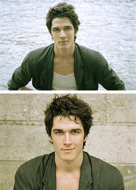 Pierre Boulanger. I think he's smiling at me because he wants to marry me.... One can dream