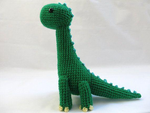 Crochet PATTERN - Amigurumi Brachiosaurus Dinosaur