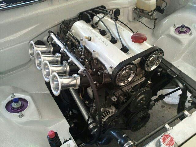 Throwback, Matt's engine bay | #TopMiata #mazda #miata #mx5 #eunos #roadster