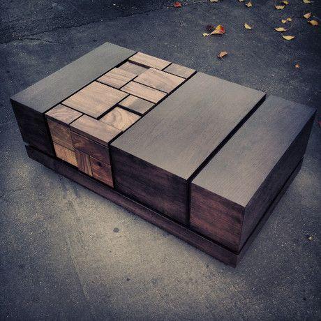 Abaci Dark Walnut II // Coffee Table