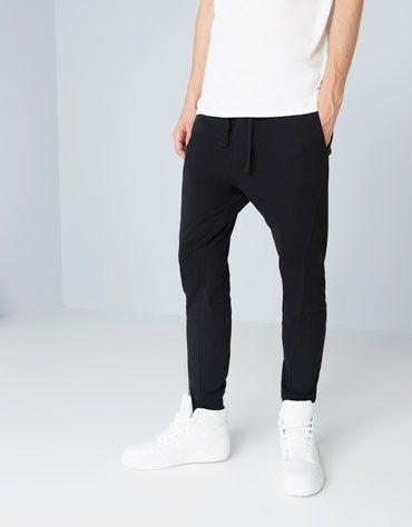 Bershka Spain - Basic terry coloured trousers - 48 Poly - 51 Cot 1 Elastane - Euros 22.99