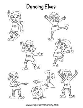 how to draw an elf teacherspayteacherscom