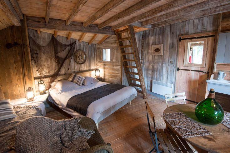 Cabanes d'exception dans les Vosges pour un séjour insolite avec Bol d'air