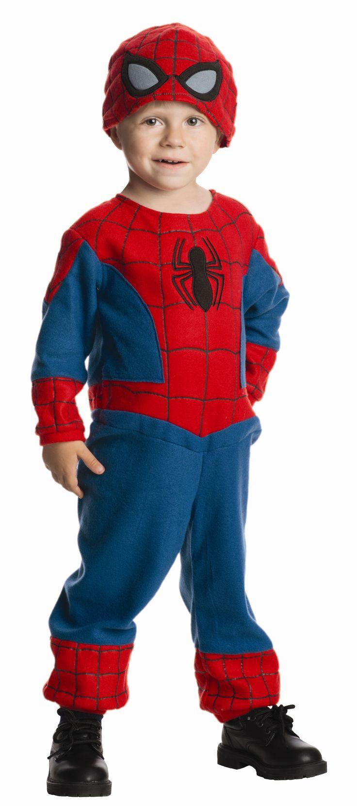 Toddler Spiderman Costume - Meijer Halloween 2014